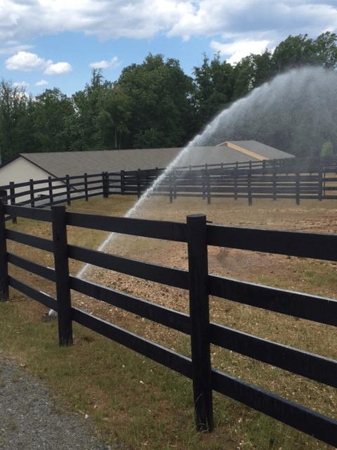 pasture irrigation system